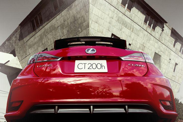 #LexusCT #Red