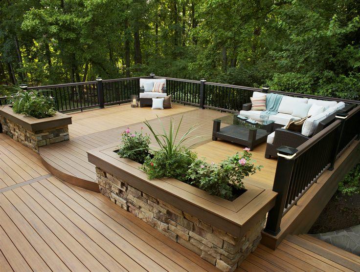 74 best Decking images on Pinterest   Decking, Deck design and ...