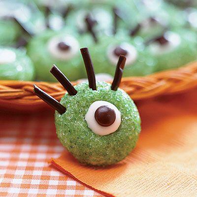 Ogre-Eye Cookies: Halloween Recipe of theDay