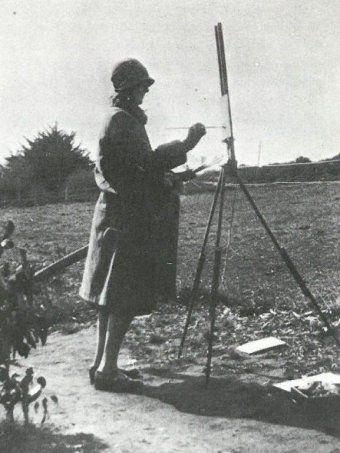 Clarice Beckett painting