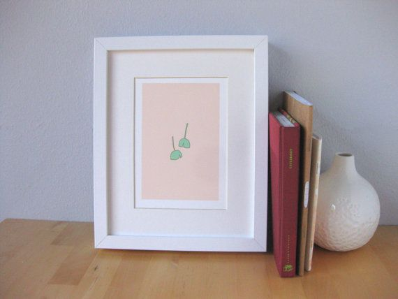 Gingko Leaves Print by MonkeyandtheWhale on Etsy, $20.00Leaves Prints, Leaf Prints, Gingko Leaves