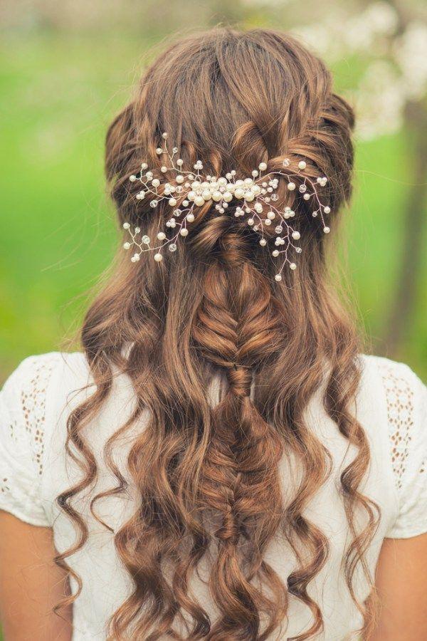 Awe Inspiring 1000 Ideas About Braided Wedding Hairstyles On Pinterest Short Hairstyles For Black Women Fulllsitofus