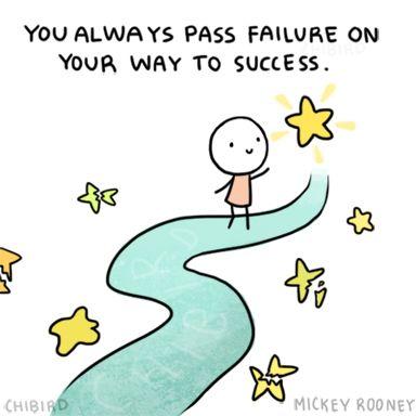'Je komt altijd langs falen op je weg naar succes'