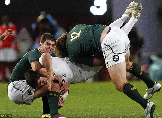 So...you want to play rugby against South Africa...riiight!
