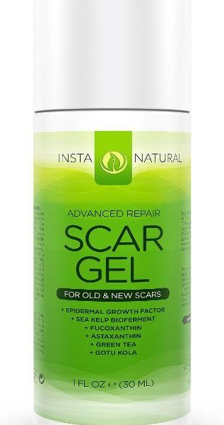 DIMINISH & ERASE SCARS – InstaNatural's Scar Gel works over time to get rid of anything from surgical scars to even burn scars. With use twice a day, you can watch your skin soften and see the scars fade away., BEST INGREDIENTS & RESULTS – Our formula is essential for skin health, it includes Epidermal Growth Factor, Fucoxanthin, Astaxanthin, Green Tea and Gotu Kola.