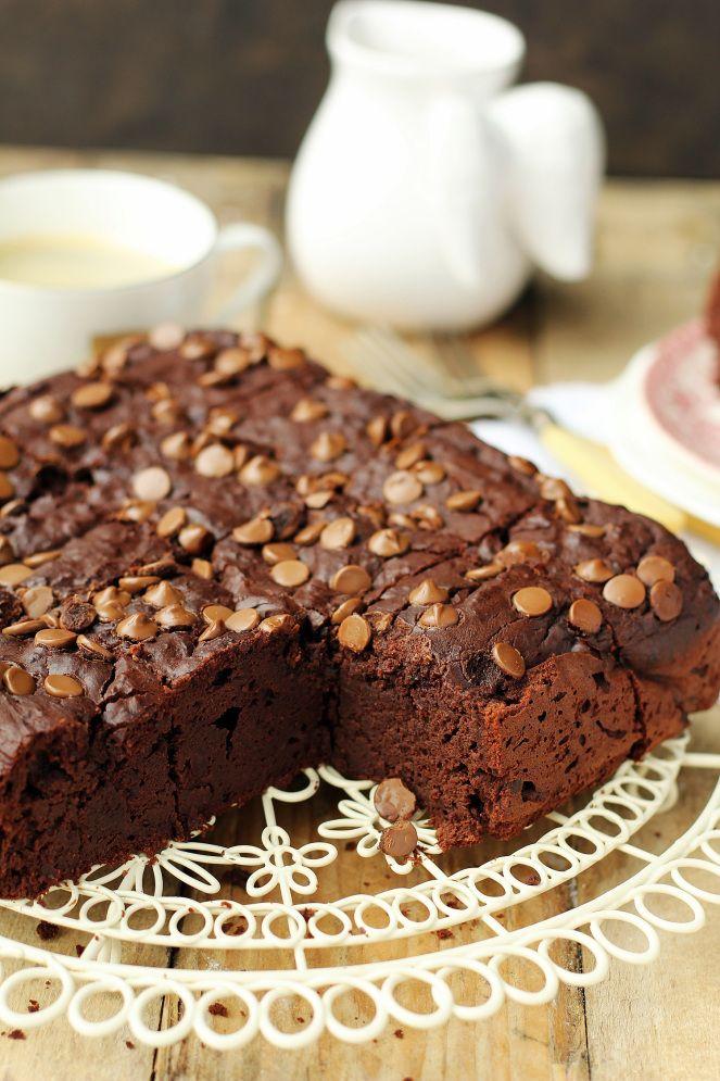gluten-free red bean brownies / bezglutenowe brownies z fasoli