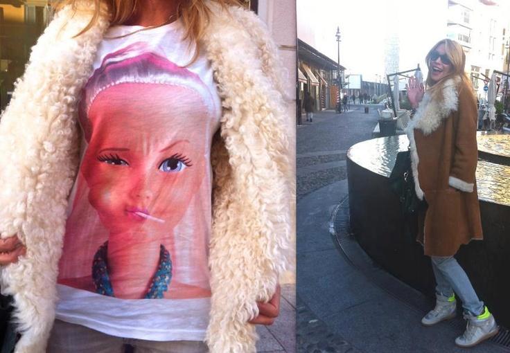 Elenoire Casalegno wears Dolly