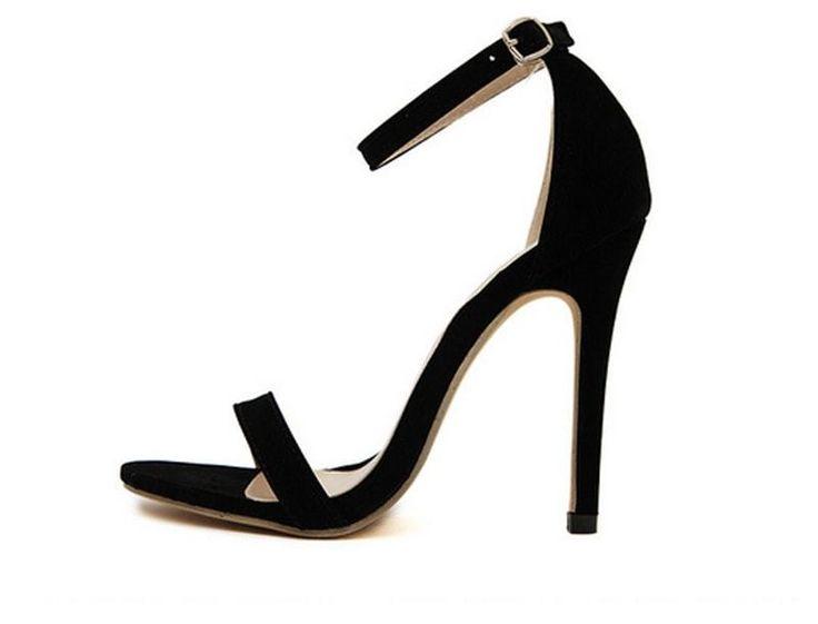 Black Elegant High Heel Shoes