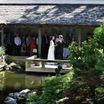 Ceremony in the Cloistered Courtyard