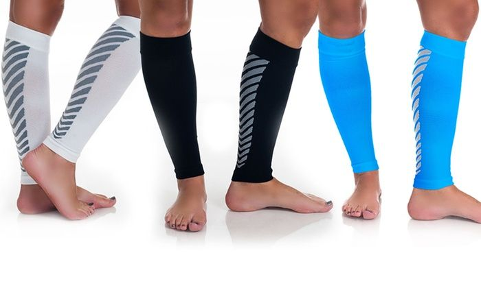 Pair of Calf Compression Sleeves by Remedy: Pair of Calf Compression Sleeves by Remedy
