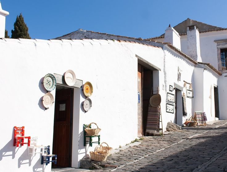 Monsaraz - Mediaval village in Alentejo region, Portugal - via Storehouse, TripperApp 13.03.2015   The village on the mountain dates back to the 12th century. You can find hundreds of #monuments nearby which include #Neolithic remains of #megalithic monuments of Herdade de Xerez, Odival da Pega Dolmen, Bulhoa Menhir, Rocha dos Namorados Menhir and Outeiro Menhir.