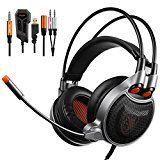 Amazon Angebote Deals Sades SA-929 Gaming Kopfhörer Mit Einem Tastendruck Ein 7.1.-Surround-Sound Separate…Ihr Quickberater
