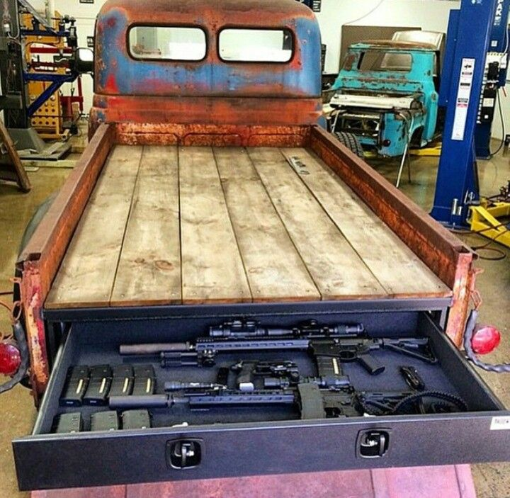 1000 ideas about truck bed storage on pinterest decked truck bed truck storage and truck bed - Truck bed storage ideas ...
