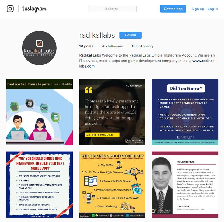 Radikal Labs -the leading mobile game & app development company is on #instagram! Visit https://www.instagram.com/radikallabs/