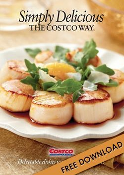 Download 'Simply Delicious' Costco Recipe Book
