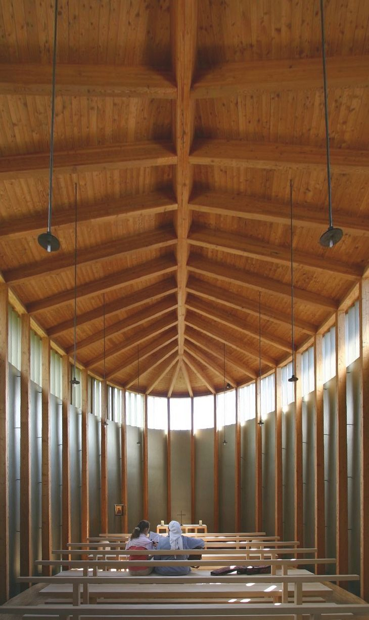 peter zumthor chapel st benedict - Google Search