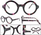 Oversize Big Round Thick Acetate Eyeglass frames Women Men Glasses RX Eyewear  #… – Vision Care Products