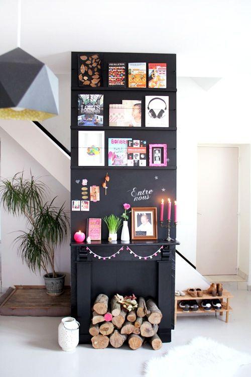 Les 25 meilleures id es concernant murs faux peints sur - Emission de decoration interieure ...