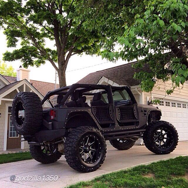 one badass jeep