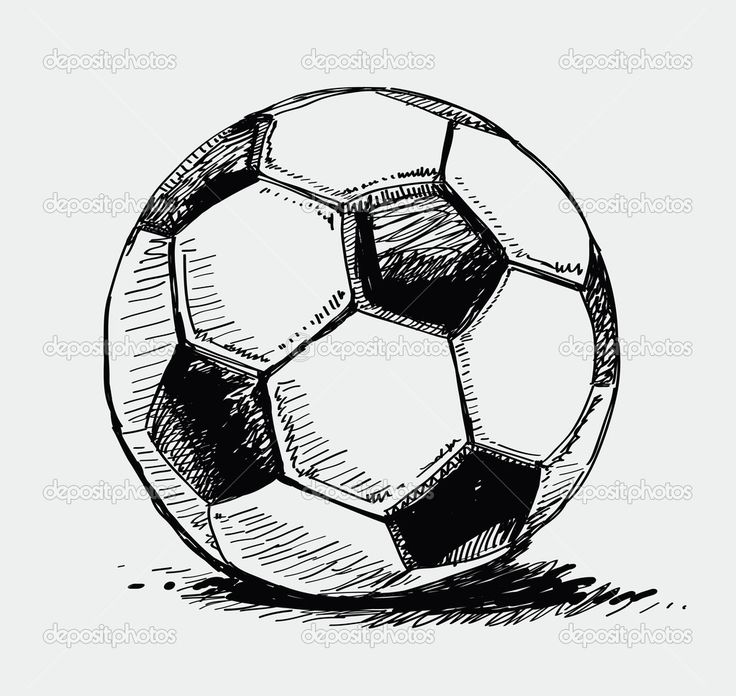 Ballon de soccer - Illustration: 6580394                              …