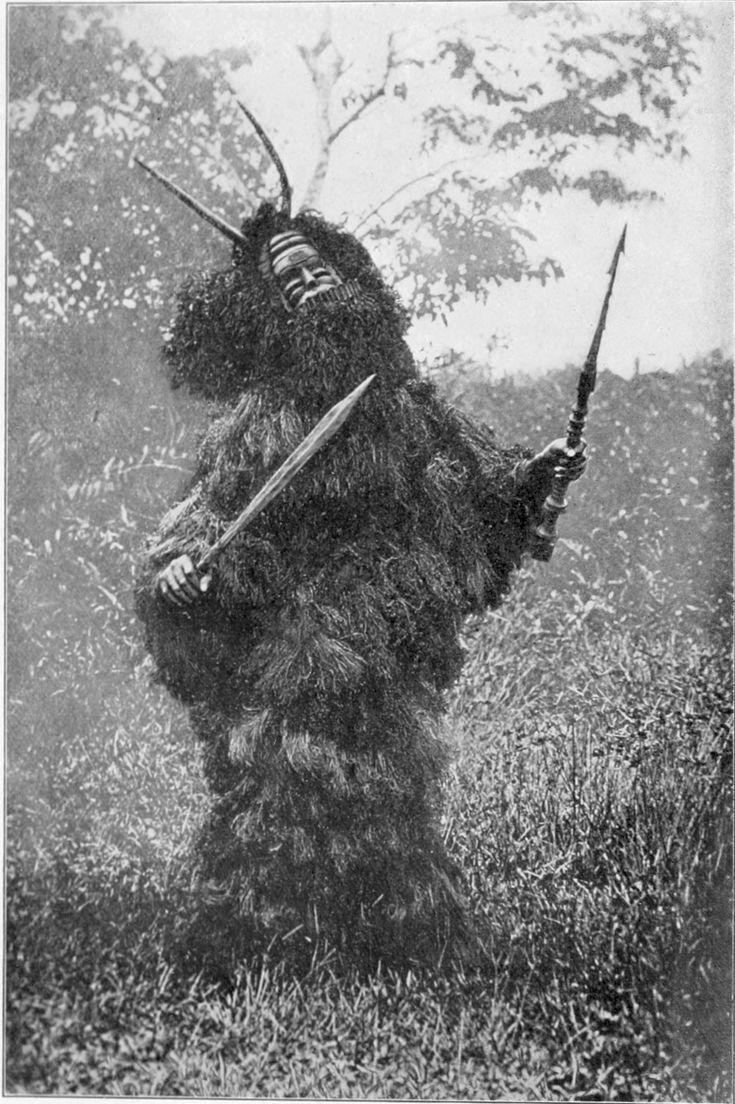 West African shaman, 1904