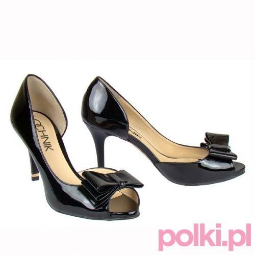 Czarne szpilki, Ochnik #buty #szpilki #shoes