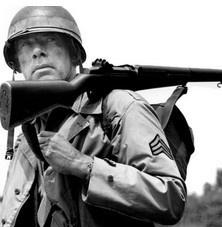M1 Garand, el rifle de Asalto de la infantería de los Estados Unidos durante la Segunda Guerra Mundial. Preciso, versátil, de colección