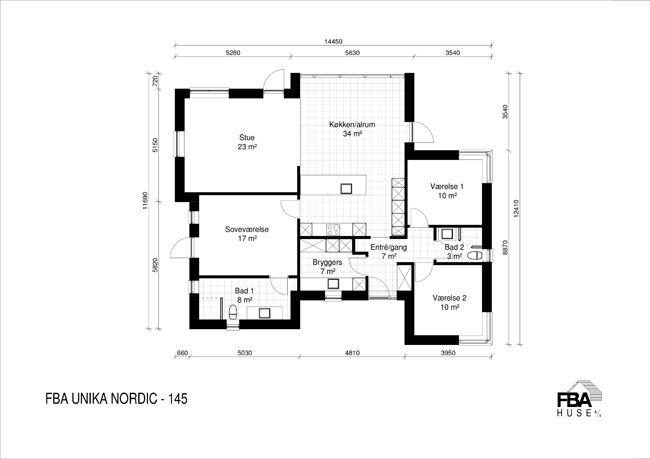 Unika Nordic 145 - FBA Huse