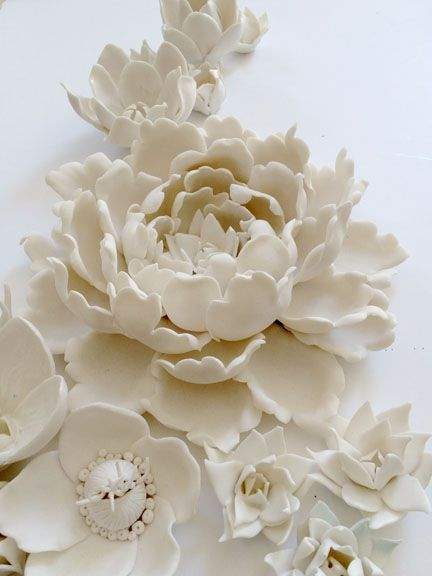 New Mixed Porcelain Flowers at DSHOP!
