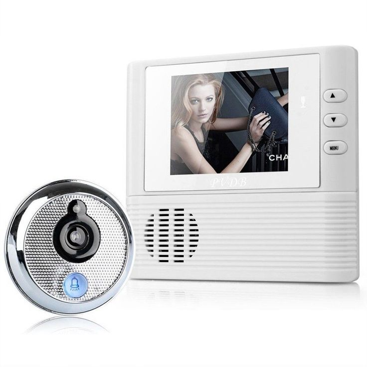 Digital Door Peephole Video Doorbell 0.3M Night Vision Video Color Photo Secure #Doesnotapply