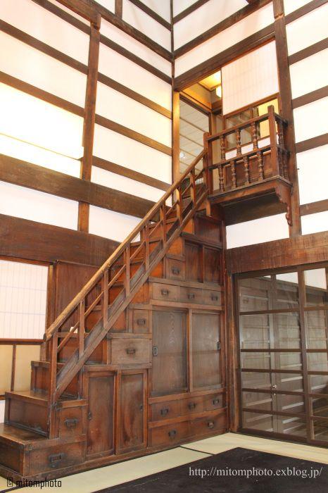 Iwate, Japan / 階段箪笥 / もりおか町家物語館 盛岡 岩手