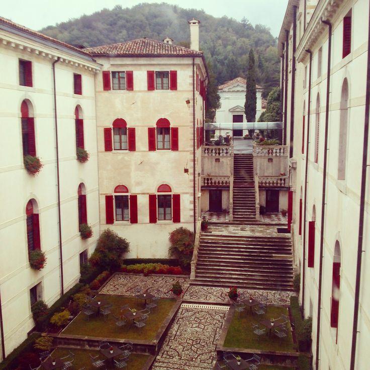 La corte interna del #castello! #castelbrando #castle #italy #veneto