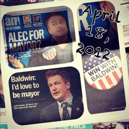 Alec Baldwin the Mayor of New York! What are your thoughts?: Alecbaldwin