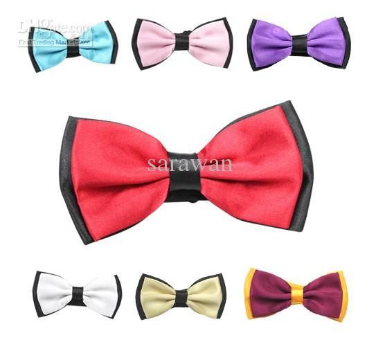 Cheap Bow Ties - Best Bow Tie Tuxedo Biocolor Bow Ties 13 Colors Bow Ties Mixed 20pcs Lot 12112802 Online with $2.55/Piece | DHgate