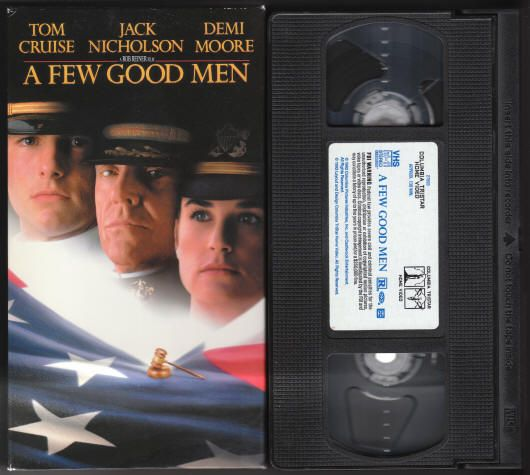 a few good men movie essay Free essay: a few good men starring jack nicholson tom cruise and demi  moore is about ethic in the marines many characters in the movie.