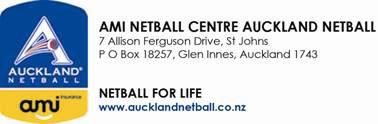 AMI Auckland Netball presents Life Membership and Service Award