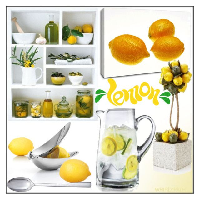 17 Best Ideas About Lemon Kitchen Decor On Pinterest
