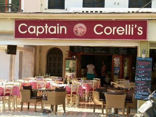 Captain Corelli's op kefalonia in agia efimia