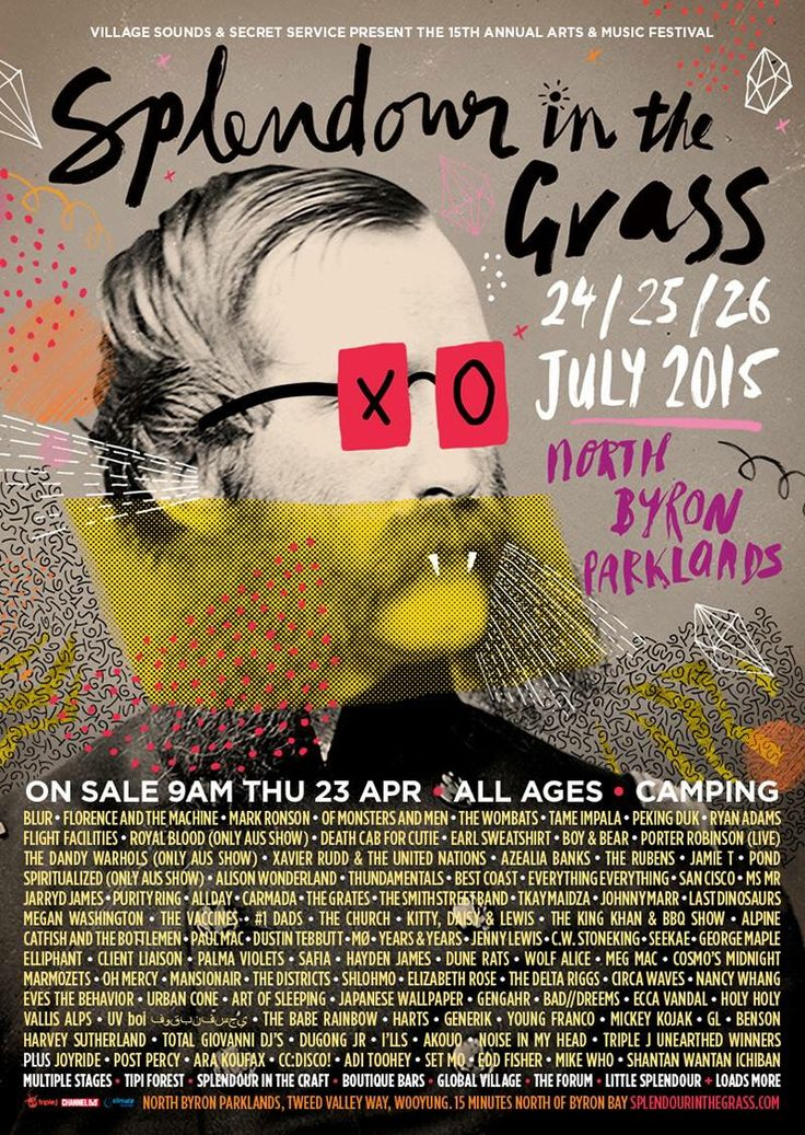 Splendour In The Grass (Blur, Tame Impala, The Vaccines, Wolf Alice, The Delta Riggs, Bad//Dreems), North Byron Parklands. 26 July 2015.