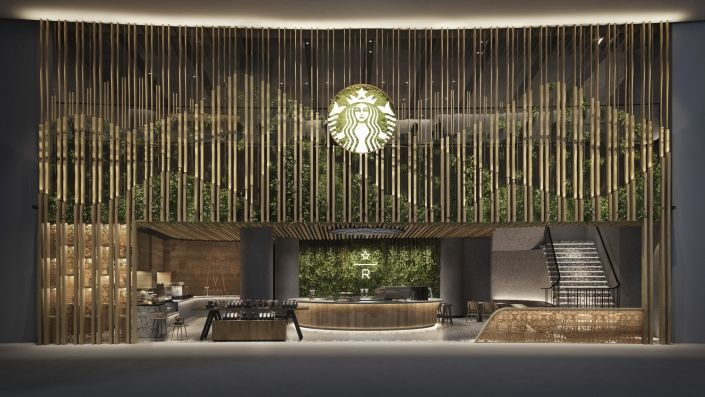 Starbucks Just Opened Its Singapore Flagship Store At The Iconic Jewel Changi Airport In 2020 Singapore Changi Shop Facade