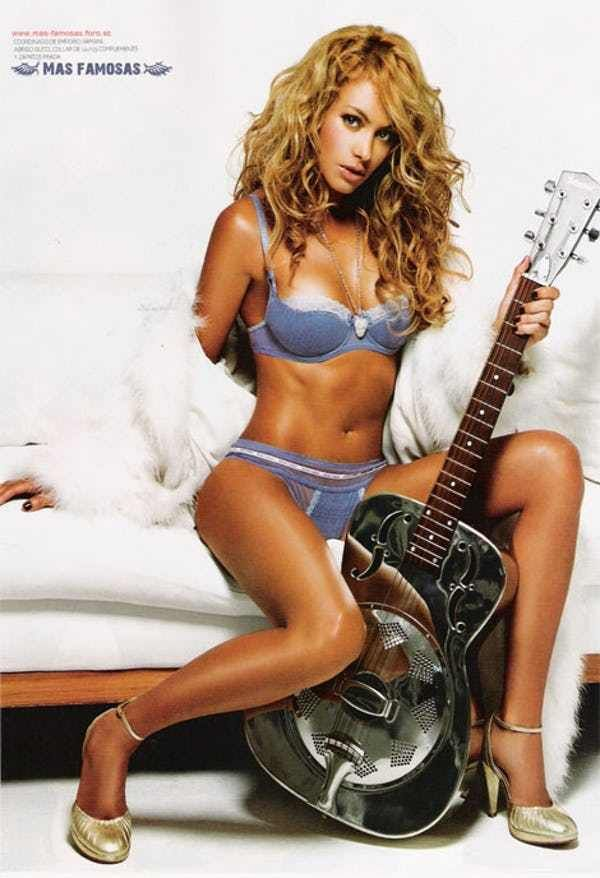 Who Knew Shakira Could Play Gu... is listed (or ranked) 2 on the list The 38 Hottest Shakira Photos of All Time