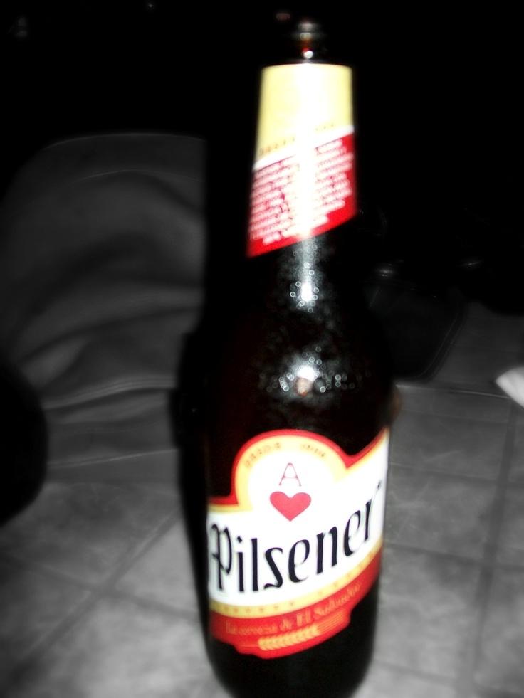 Salvadoran beer. - Yelp