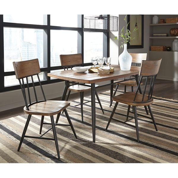 Jorwyn Rectangular Dining Room Table W 4 Side Chairs