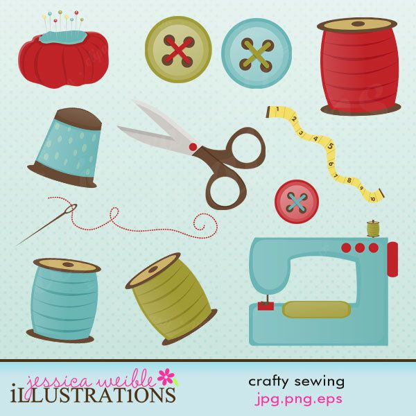 17 Best images about Sewing clipart on Pinterest | Clip art ...
