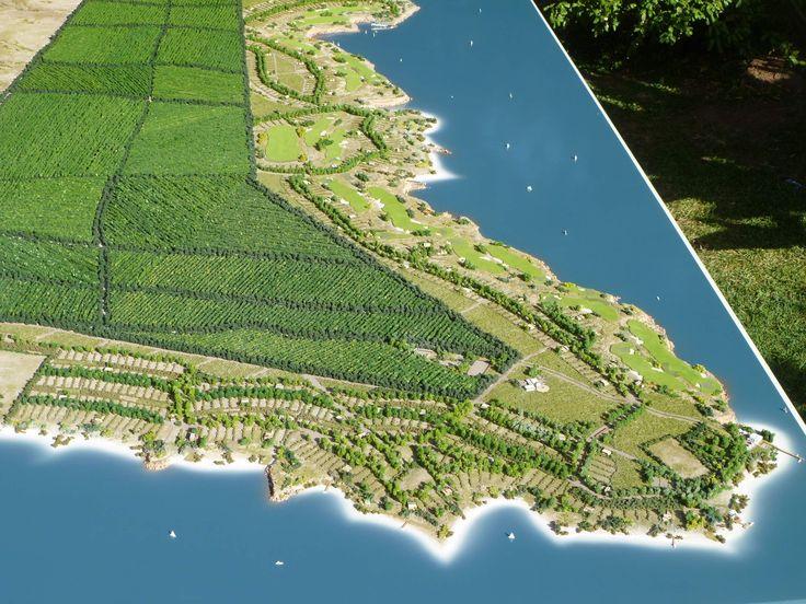 Maqueta La Península Mari Menuco