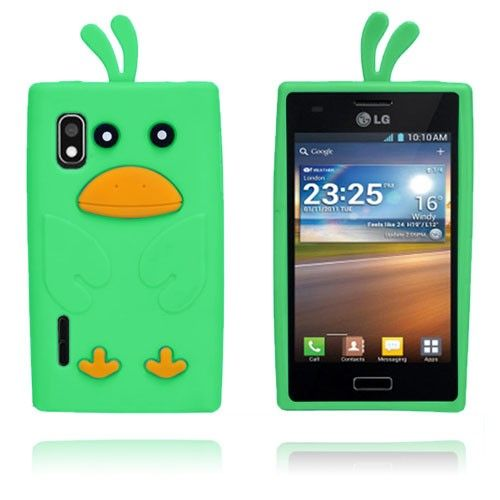 And (Grøn) LG Optimus L5 Cover