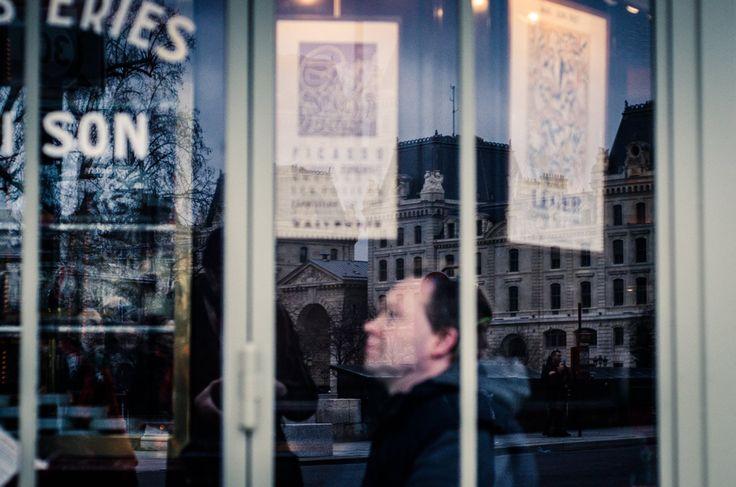 reflections #paris #cafè