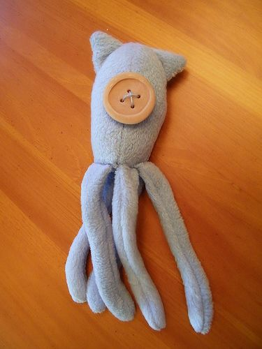 The squid doll from Coraline