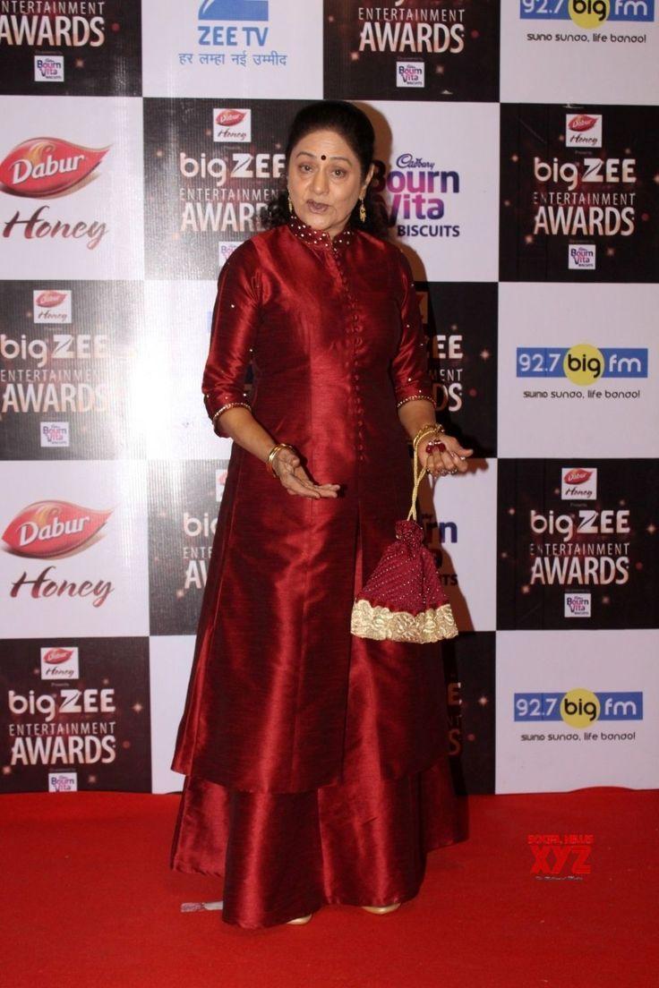 Mumbai: Big Zee Entertainment Awards 2017  Aruna Irani - Social News XYZ