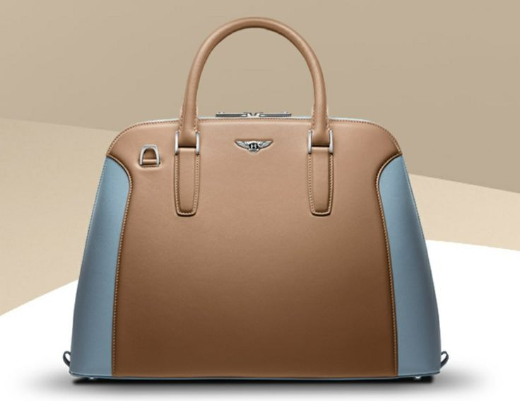 The blue on this gorgeous Bentley Bag makes it pop! www.thewarrantyco.com